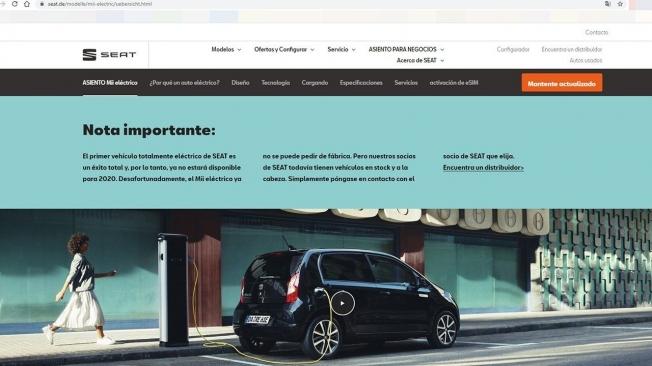 El SEAT Mii electric se ha dejado de vender en Alemania
