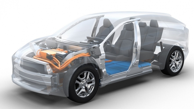 Subaru Evoltis - plataforma