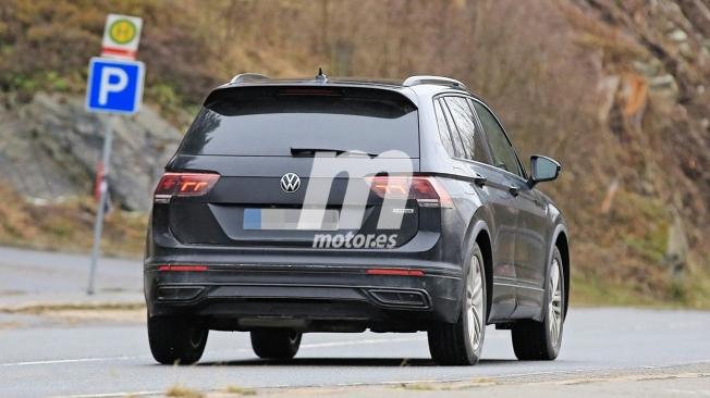 Volkswagen Tiguan 2020 - foto espía posterior