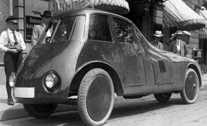 Persu, el coche aerodinámico que Ford no pudo comprar