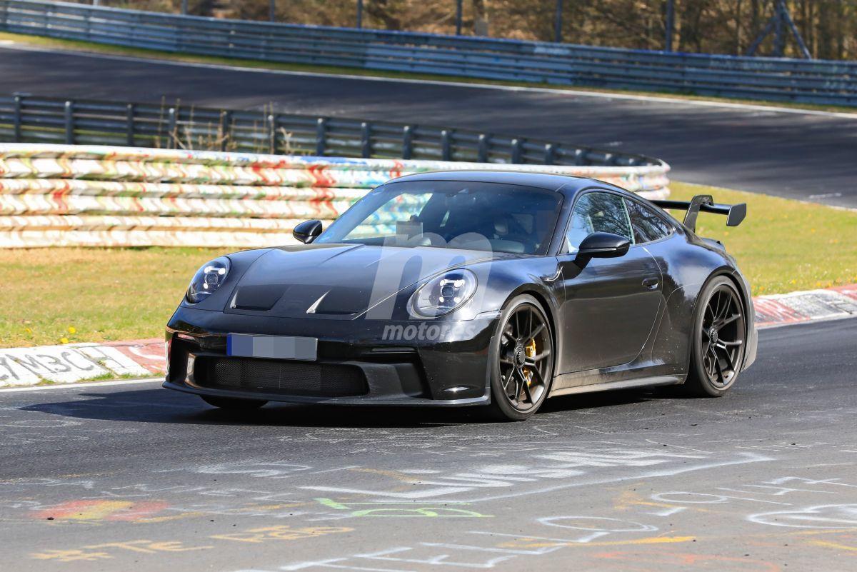 ¡Cazado! Primeras imágenes del nuevo Porsche 911 GT3 al desnudo
