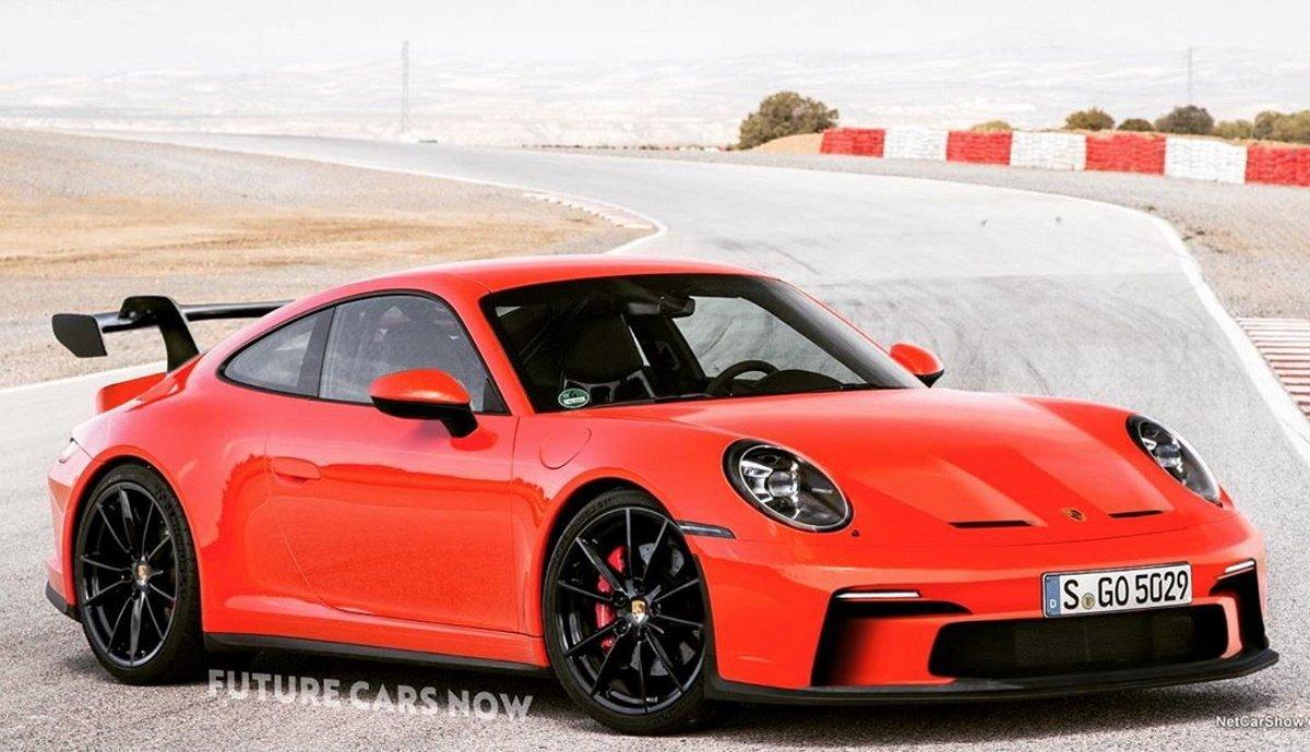 El nuevo Porsche 911 GT3 2021 al descubierto gracias a este render
