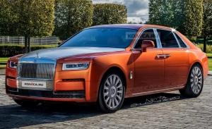 La segunda generación del Rolls-Royce Ghost destapa su diseño en unas recreaciones