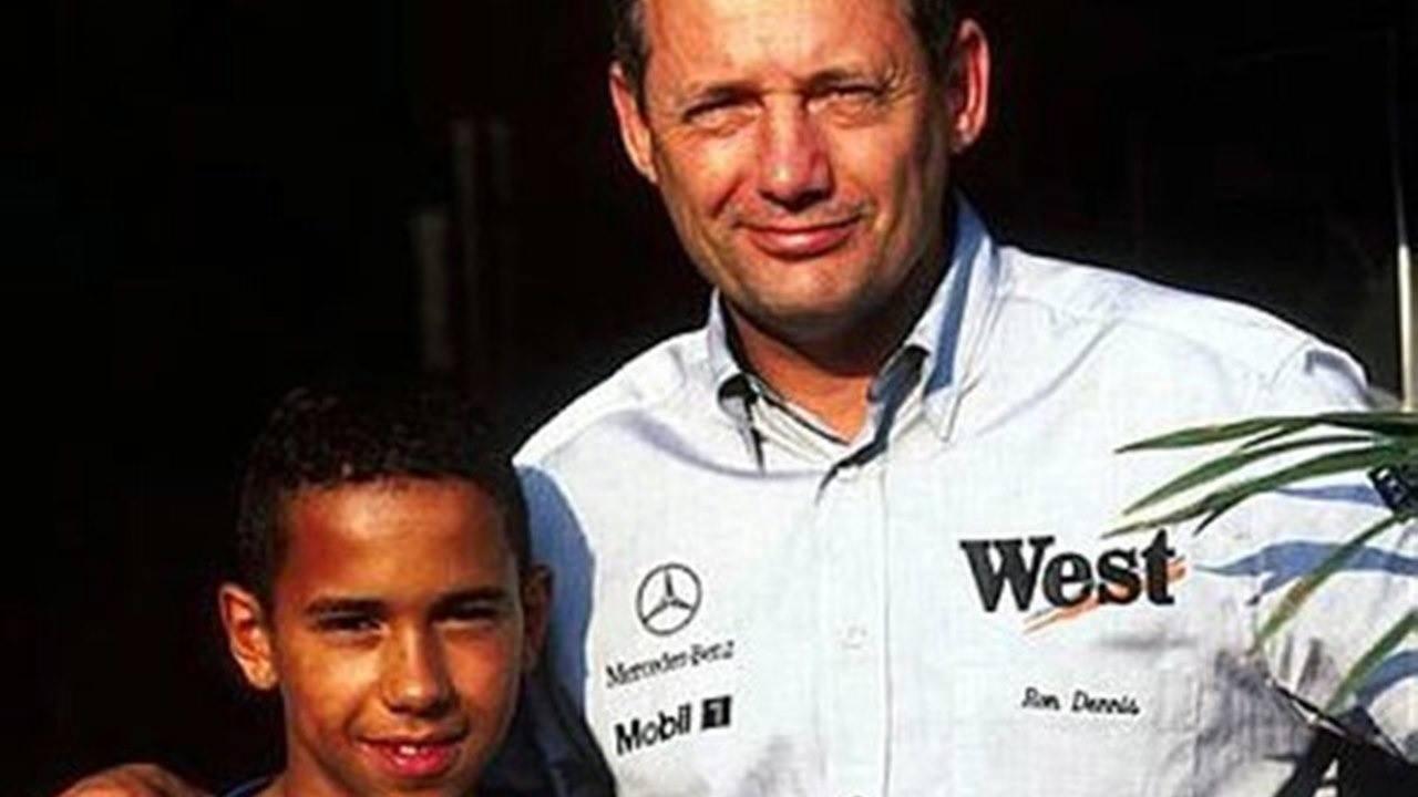 Ron Dennis: «Lo que me gusta de Hamilton es que no olvida quién le ayudó»