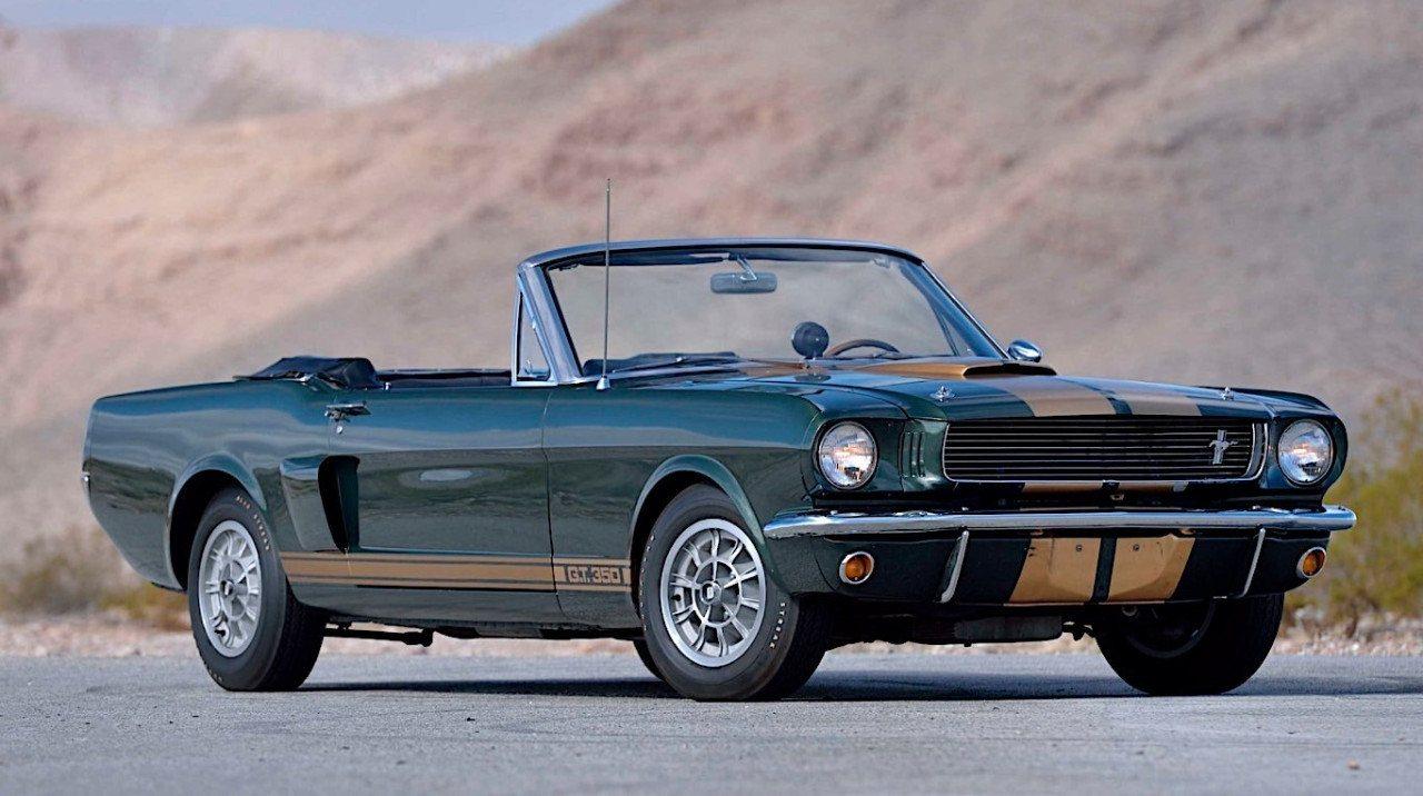 En venta el primero de los únicos 4 Shelby GT350 '66 fabricados como convertibles