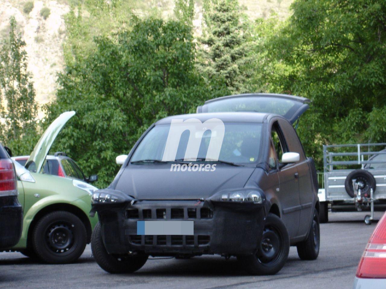 La mula del Fiat Idea que se transformó en el trío de comerciales de Tofas en 2007