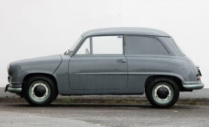 Volkswagen EA 48, el utilitario alemán que se anticipó al Mini