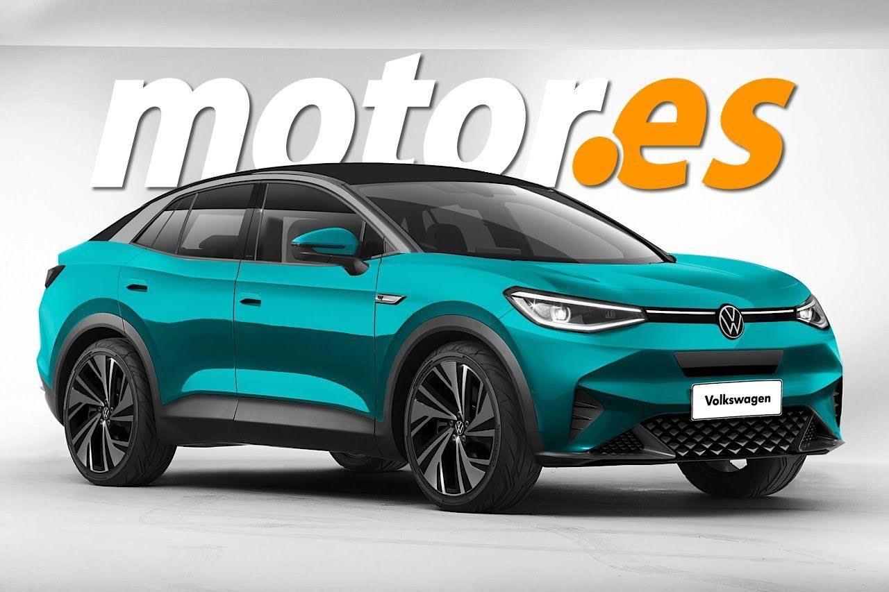 El anticipo más fiel del nuevo Volkswagen ID.4X 2021, el SUV coupé eléctrico en camino