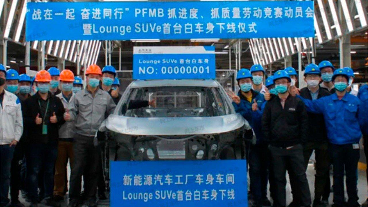 La pre-producción del Volkswagen ID.6 en China ya está en marcha