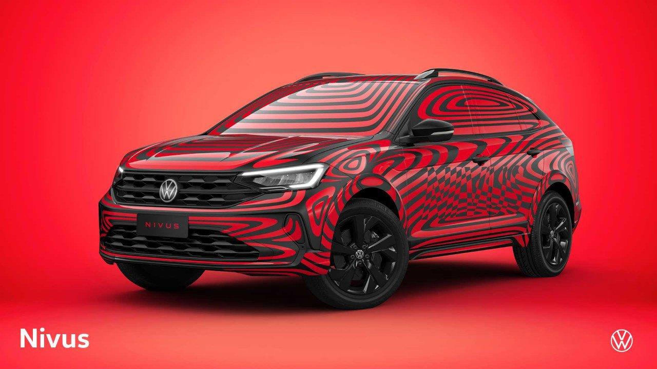 Volkswagen desvela el Nivus con algo de camuflaje