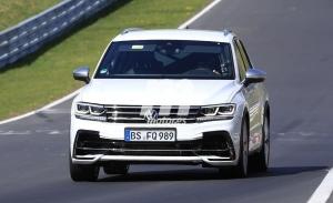 El nuevo Volkswagen Tiguan R 2021 rueda en Nürburgring al descubierto
