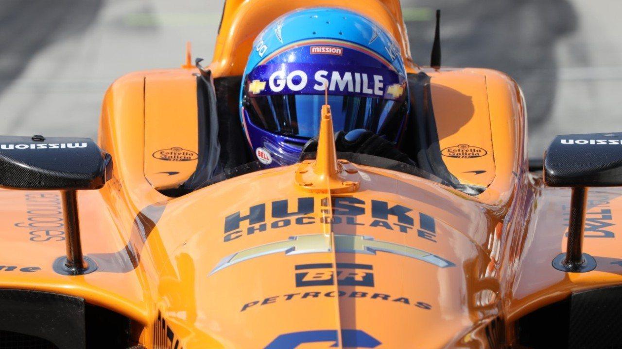 Alonso, «preocupado» por los óvalos, descarta de nuevo un programa completo