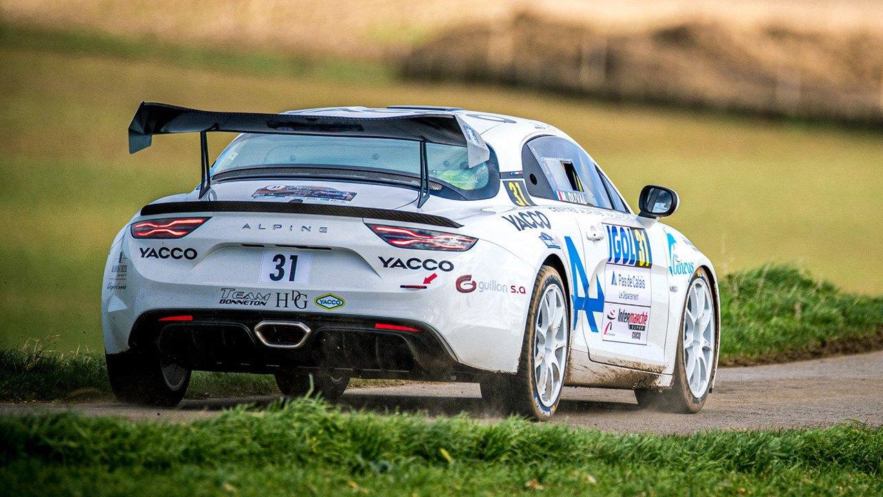 El Alpine A110 Rally retoma su programa de test con gran impulso