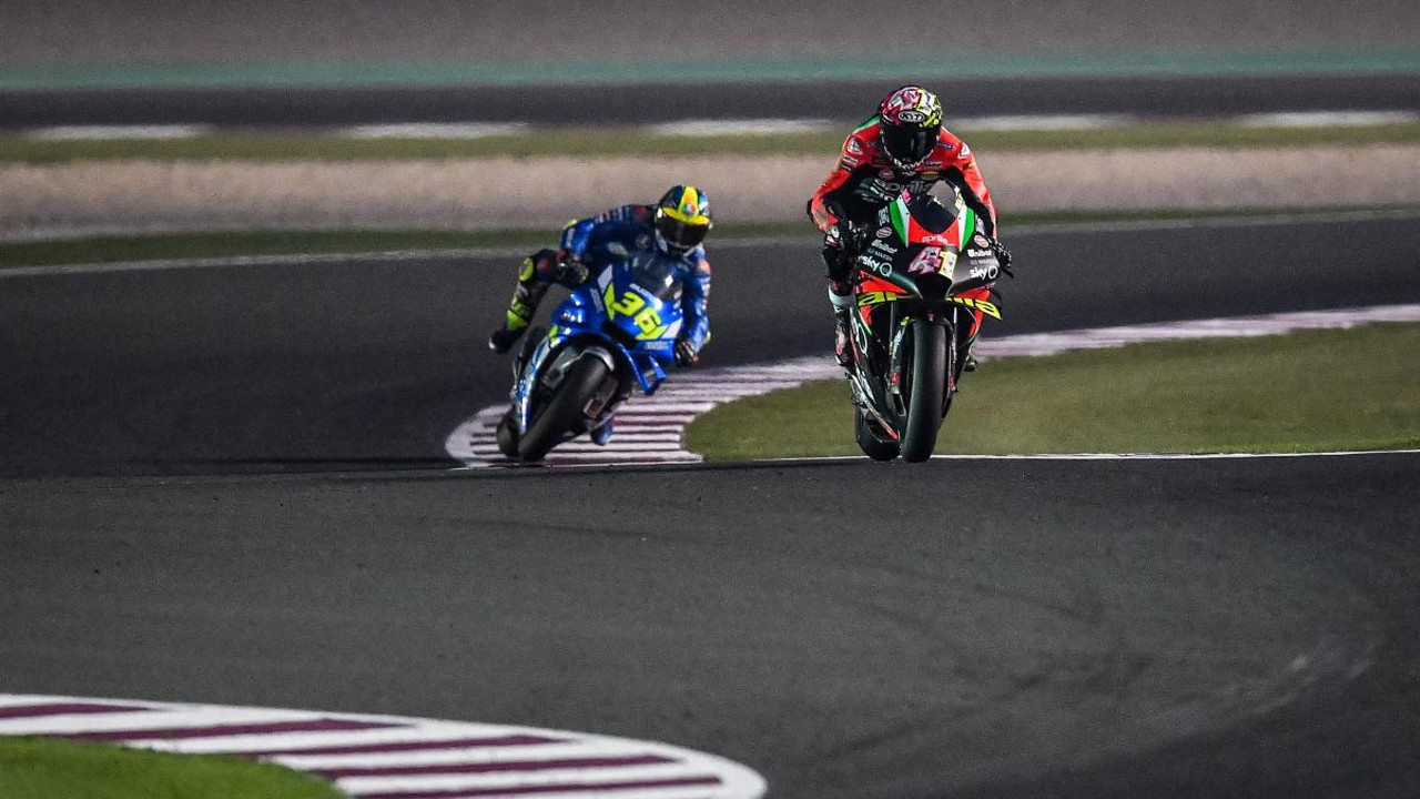 Aprilia pide una exención a la congelación de motores de MotoGP 2020