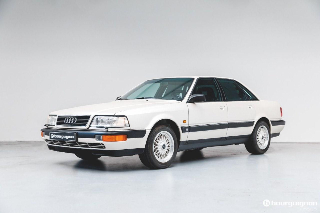 Un Audi V8 de 1990 aparece a estrenar en Holanda