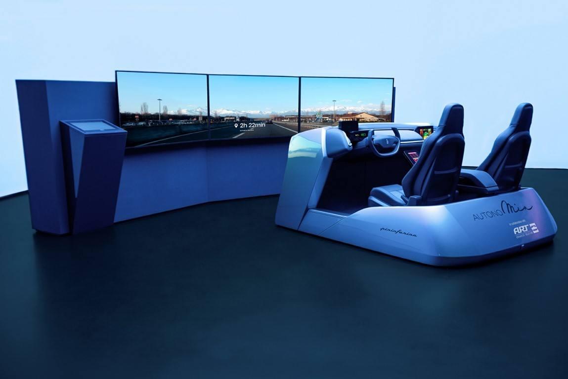 Pininfarina desarrolla AutonoMIA, el simulador de diseño para los futuros modelos