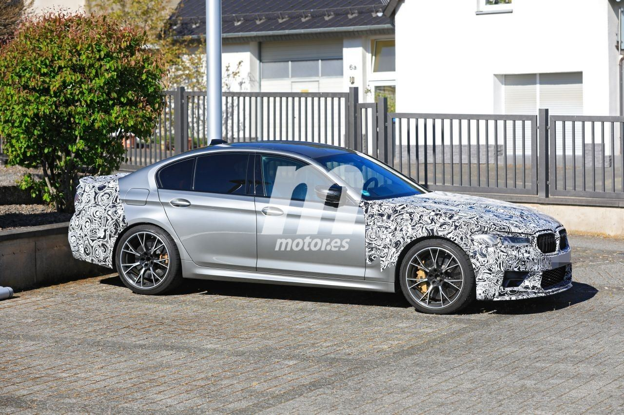 El prototipo del nuevo BMW M5 CS 2021 aparece ya en forma de producción