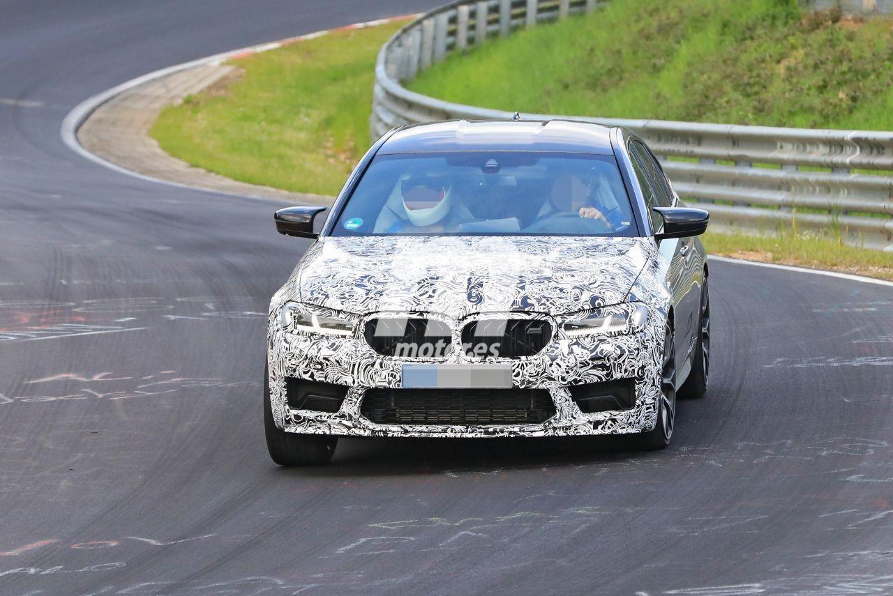 El nuevo BMW M5 CS 2021 empieza su tanda de pruebas en Nürburgring