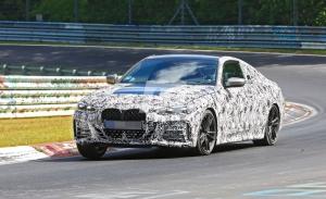 El nuevo BMW Serie 4 Coupé se deja ver más destapado en Nürburgring