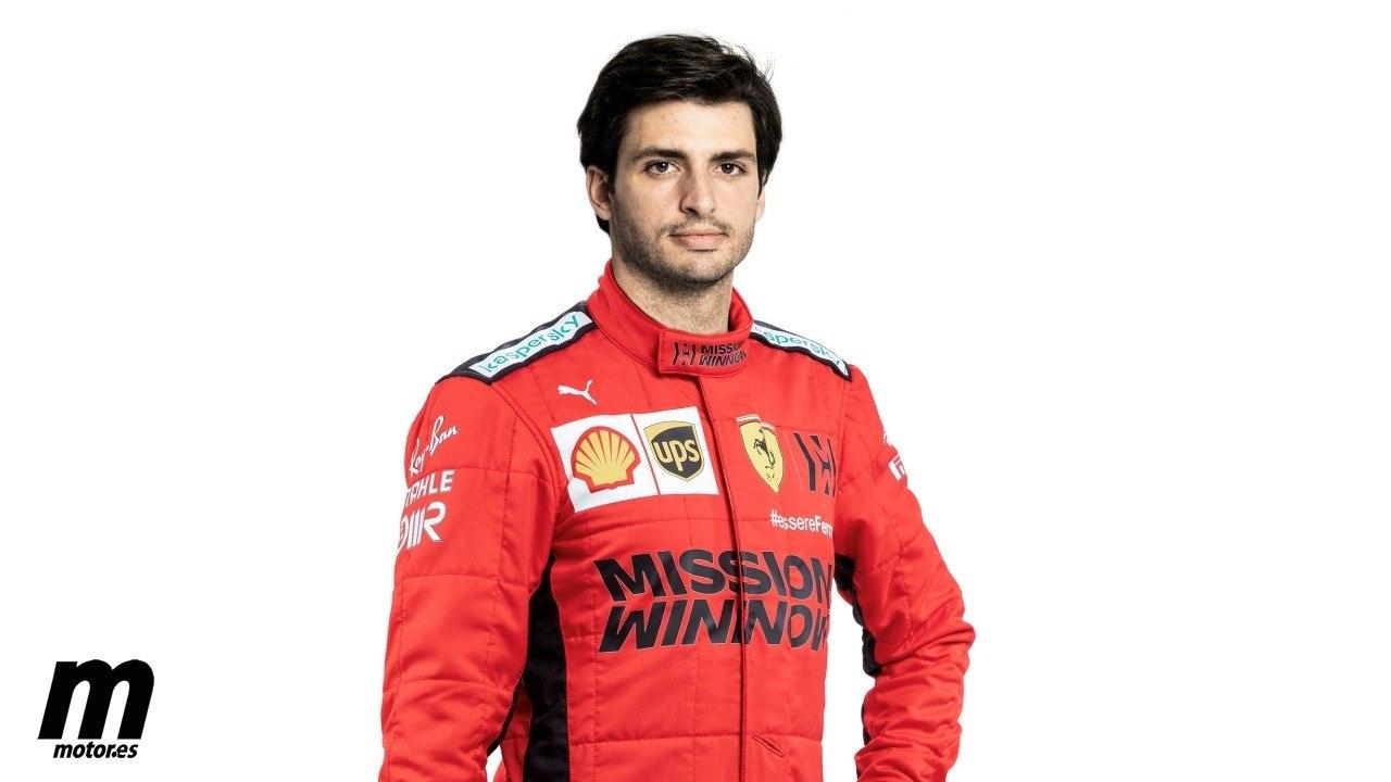 Carlos Sainz ficha por Ferrari, ¡ya es oficial!