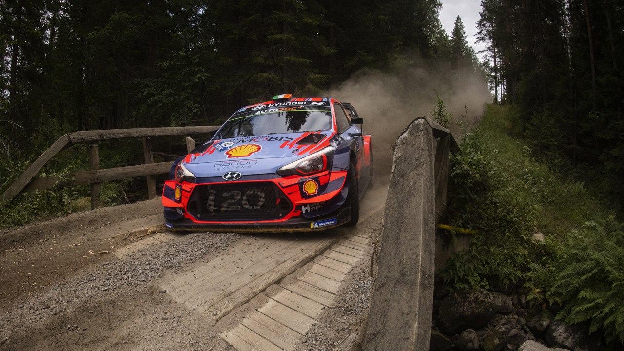 Craig Breen, confiado en tener un buen papel en el Rally de Finlandia