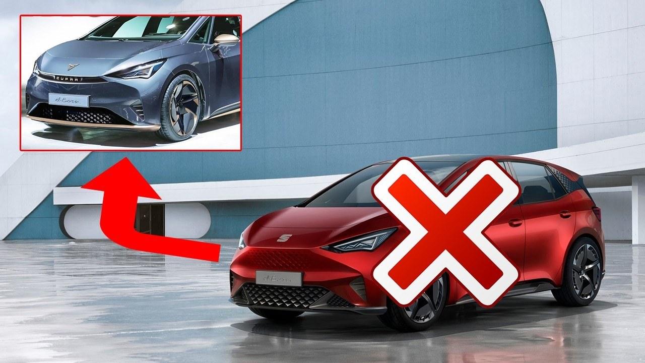 El coche eléctrico el-Born será solo de CUPRA: nuevos informes ven la luz