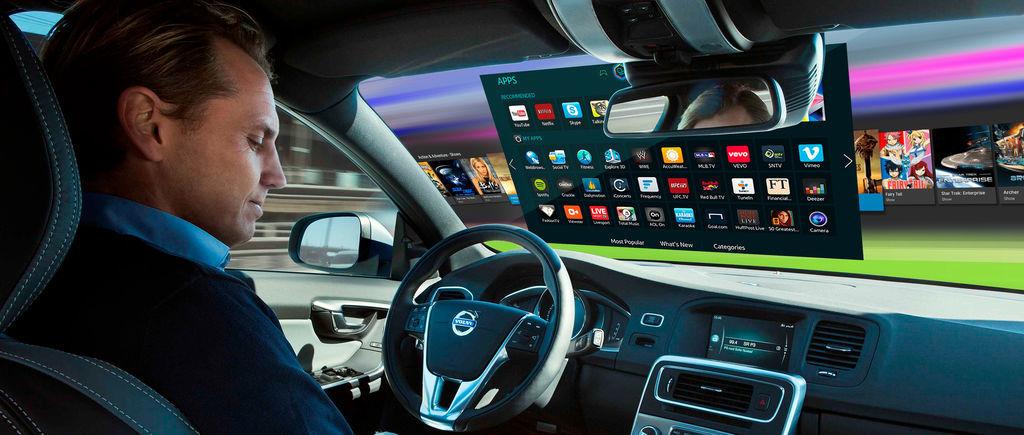 El parabrisas es la pantalla multimedia del futuro