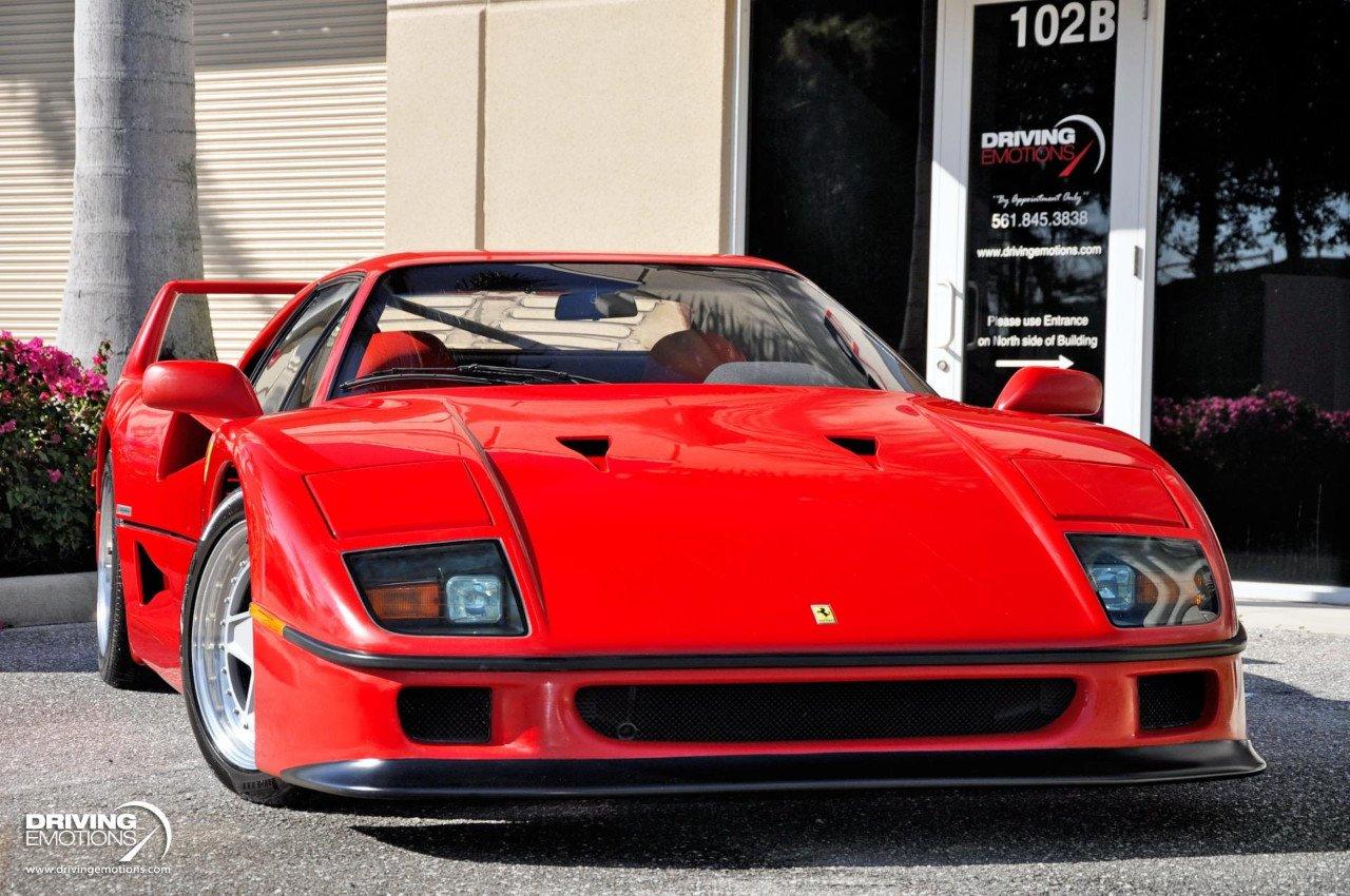 ¡Increíble! Aparece la venta un Ferrari F40 a estrenar