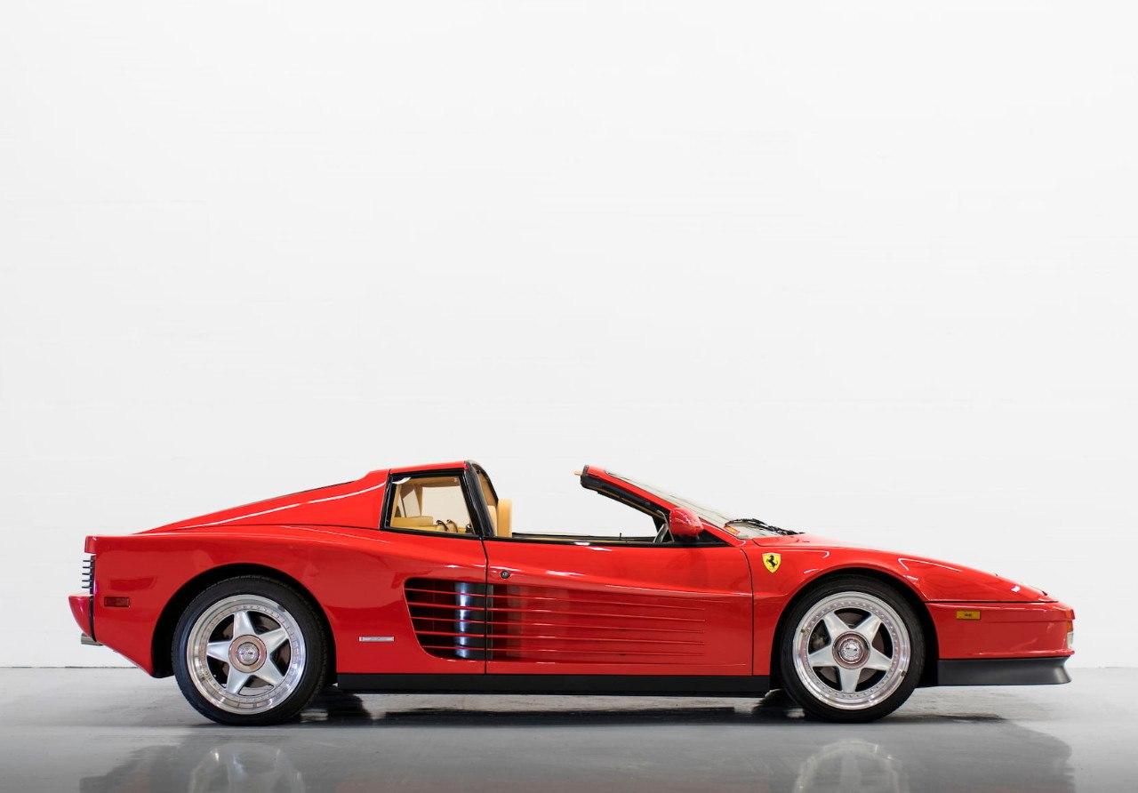 La desconocida y exclusiva versión targa del Ferrari Testarossa