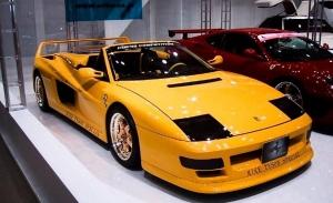Los raros y veteranos Ferrari amarillos: el Testarossa Koenig Competition Evolution de 1.000 CV de Mike Tyson