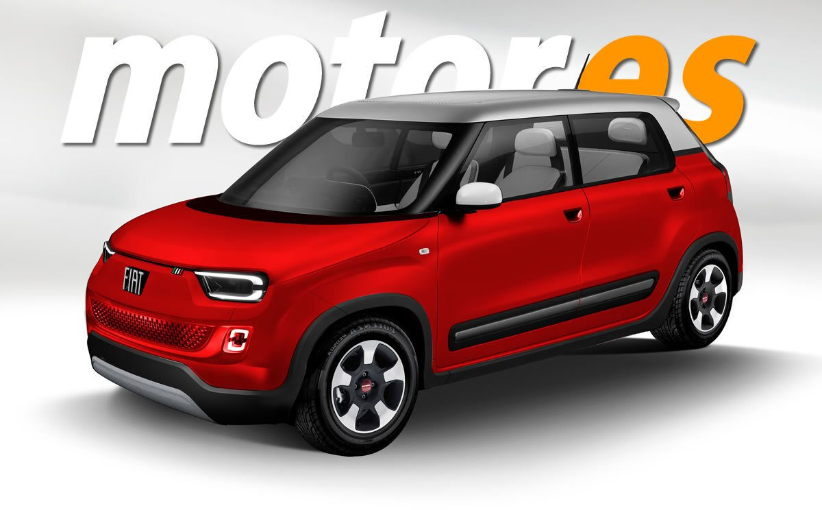 El nuevo FIAT Panda Eléctrico llegará en 2023, adelantamos su diseño
