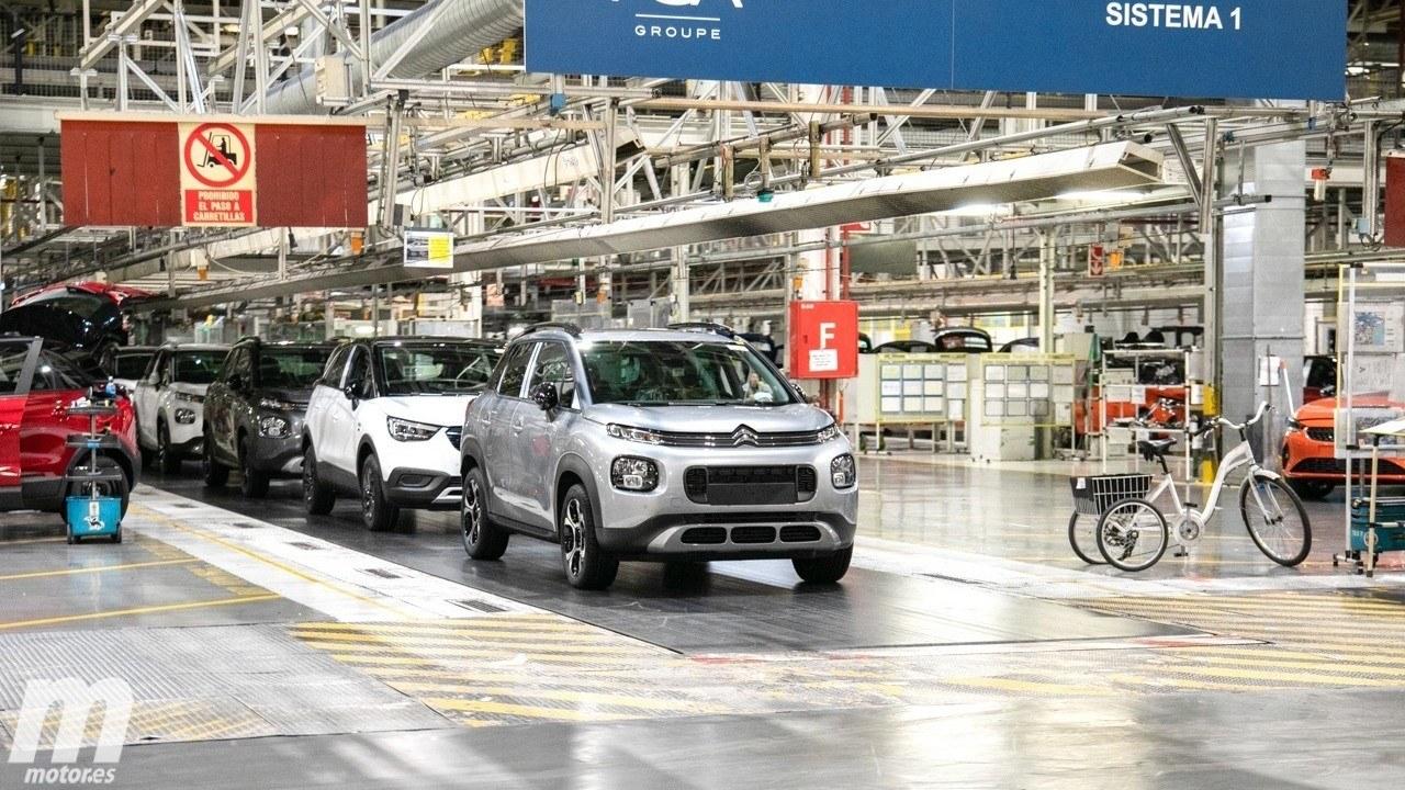 El Groupe PSA retoma la producción de vehículos en Vigo y Zaragoza