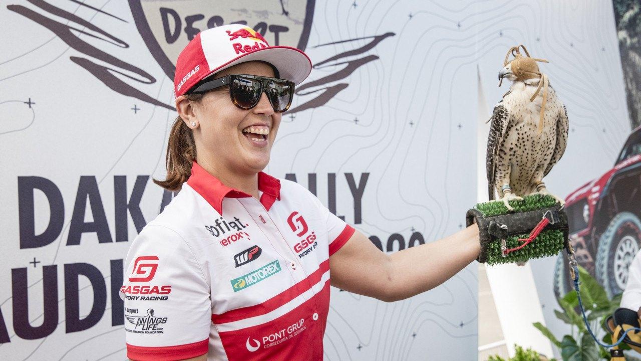 Laia Sanz lo tiene claro: «El gran objetivo de cada año es el Dakar»