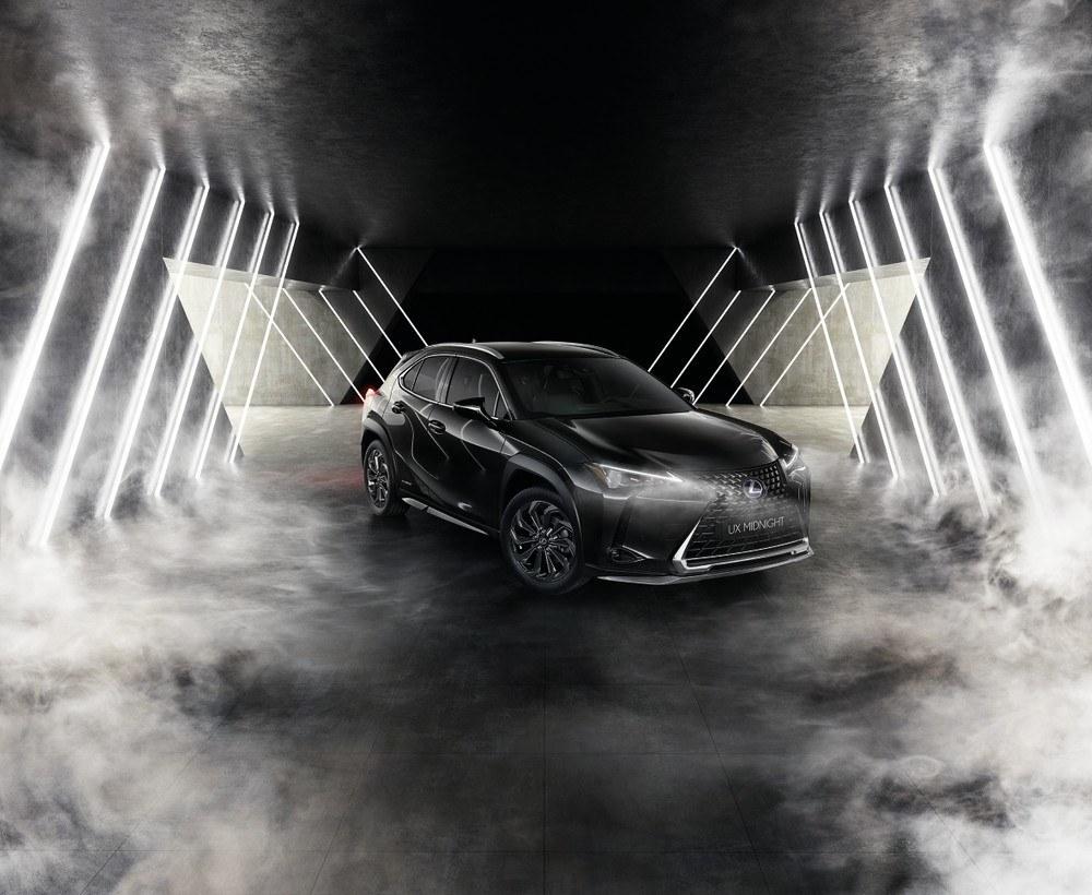 Lexus UX Midnight Edition, nueva edición especial para Italia