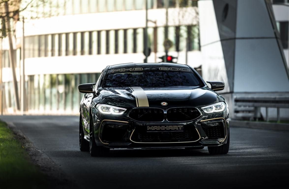 Manhart pone al BMW M8 Competition en el más alto nivel de prestaciones