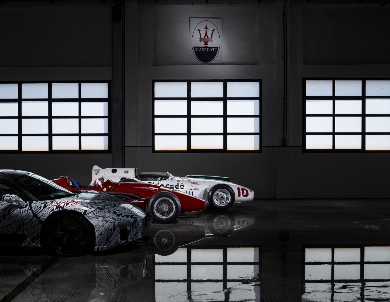El Maserati MC20 rinde homenaje a Stirling Moss con uno de sus prototipos