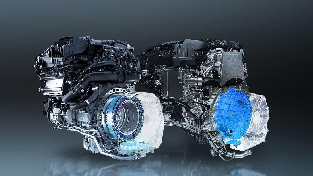 Mercedes presenta sus nuevos motores de cuatro cilindros MHEV de 48 Voltios