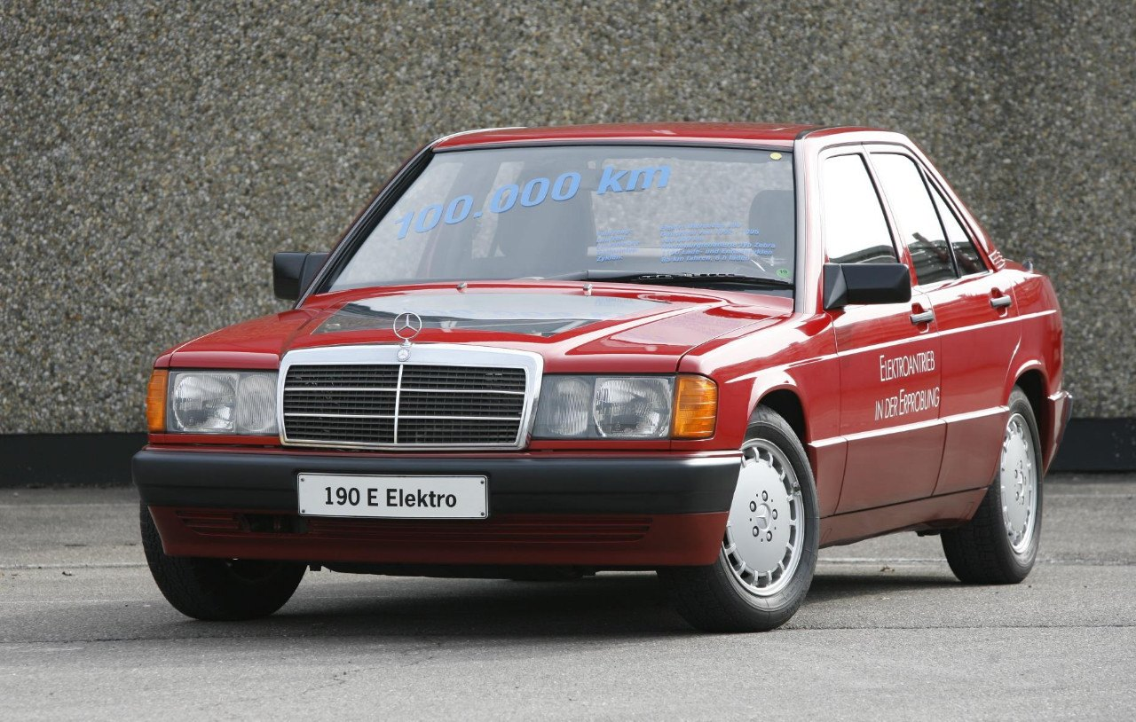 Mercedes-Benz 190 E Elektro, el abuelo de los EQ