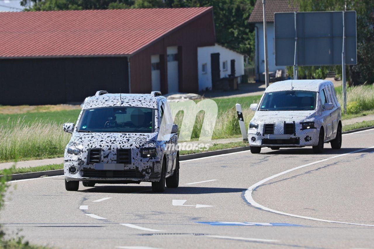 Los prototipos del Mercedes Citan 2021 reaparece en los alrededores de Alemania