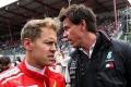 Wolff le hace un guiño a Vettel que resulta difícil de creer