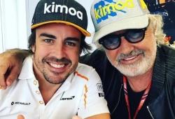 «Alonso está motivado y listo para regresar a la F1»: palabra de Briatore