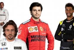 El fichaje de Sainz por Ferrari, ¿cómo afecta a Ricciardo, Hamilton y... Alonso?