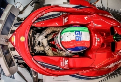 ¿Tuvo Giovinazzi opciones reales de disputarle el asiento de Ferrari a Sainz?