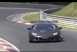 Misterioso Lamborghini Huracán Super Trofeo de carbono cazado en Nürburgring [actualizado]