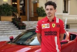 Leclerc y el fichaje de Sainz por Ferrari: «Es un gran piloto y lo va a demostrar»
