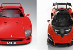 El McLaren Senna es el Ferrari F40 británico