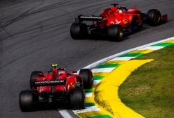 El nuevo líder de Ferrari rinde homenaje a Vettel: «Nunca aprendí tanto como contigo»