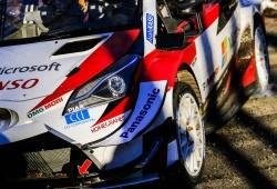 El Toyota GR Yaris WRC de 2021 ya está casi al nivel del actual Yaris