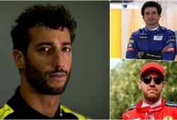 Zak Brown da detalles: el adiós de Sainz, el fichaje de Ricciardo y las opciones de Vettel