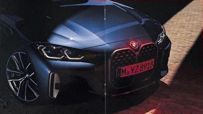 BMW Serie 4 Coupé 2021 - frontal